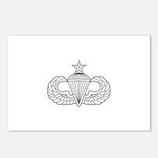 Airborne Senior Parachuti Postcards (Package of 8)