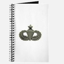 Airborne Senior Parachutist Wings Badge Journal