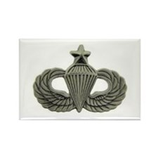 Airborne Senior Parachutist Wings Badge Magnets