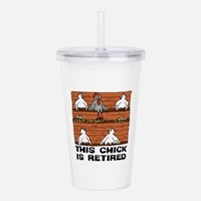 Retired Chick Acrylic Double-wall Tumbler