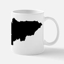 Kyrgyzstan Silhouette Mugs