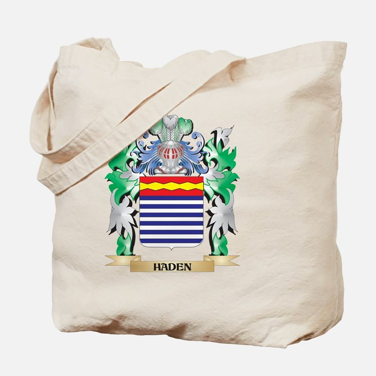 Haden Coat of Arms (Family Crest) Tote Bag