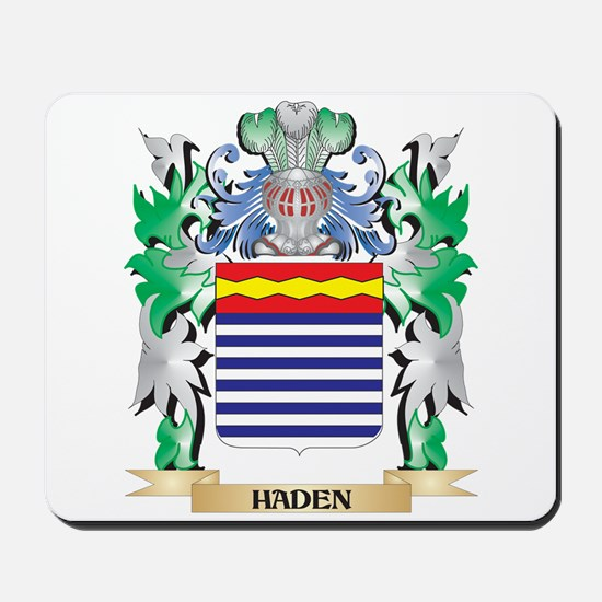 Haden Coat of Arms (Family Crest) Mousepad