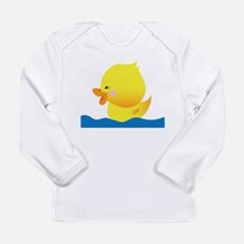 Cool Duckies Long Sleeve Infant T-Shirt