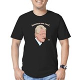 Bill clinton cigar Fitted T-shirts (Dark)