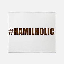 Hamilholic Throw Blanket