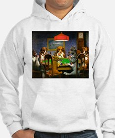 Dogs Playing Poker Jumper Hoody