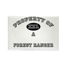 Property of a Forest Ranger Rectangle Magnet