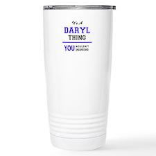 Cute Daryl Travel Mug