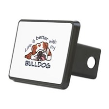 Better With Bulldog Hitch Cover