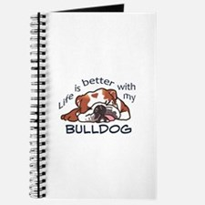 Better With Bulldog Journal