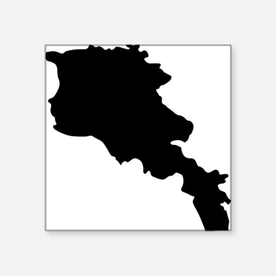Armenia Silhouette Sticker