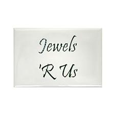 Jeweler or Designer Rectangle Magnet (10 pack)