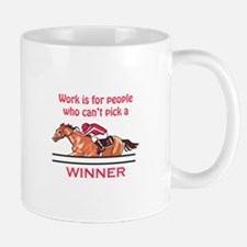 Pick A Winner Mugs