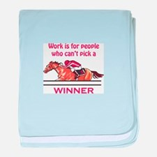 Pick A Winner baby blanket