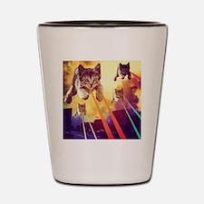 Unique Cat womens Shot Glass