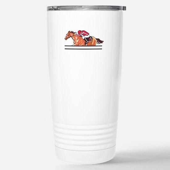 Race Horse Travel Mug