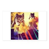 Laser cat Postcards