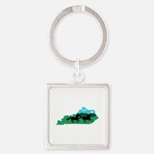 Kentucky State Keychains