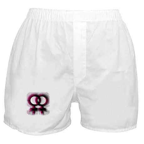 Lesbian Symbol Boxer Shorts