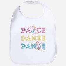 Peanuts Dance Bib