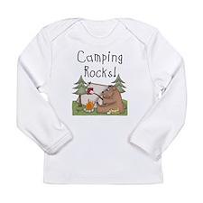 Cute Tent Long Sleeve Infant T-Shirt
