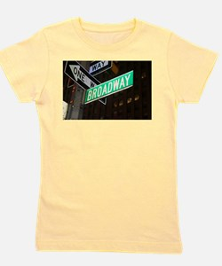 Cute Nyc time square Girl's Tee