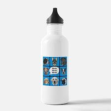 Silly dogs spoof Water Bottle