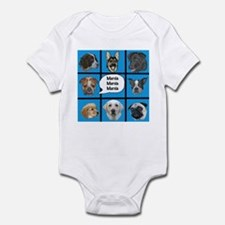 Silly dogs spoof Infant Bodysuit