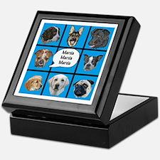 Silly dogs spoof Keepsake Box