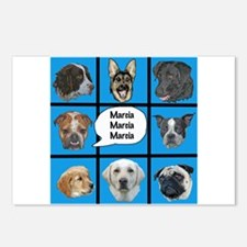 Silly dogs spoof Postcards (Package of 8)