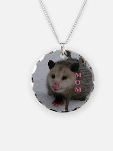 Snow Possum Necklace