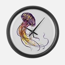 TENTACLES Large Wall Clock