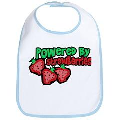 Powered By Strawberries Bib