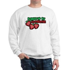 Powered By Strawberries Sweatshirt