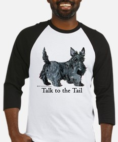Cute Talk to the tail Baseball Jersey