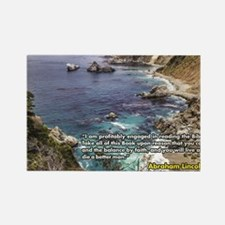 Cool Big sur Rectangle Magnet