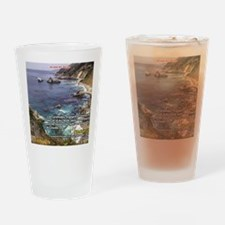 Funny Big sur Drinking Glass