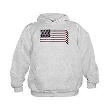 US Hockey Flag Hoodie