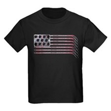 US Hockey Flag T