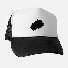 Saint Helena Silhouette Trucker Hat