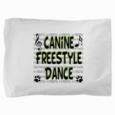 freestyle design words B.png Pillow Sham