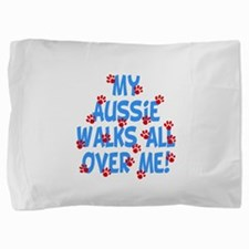 aussie walks3.png Pillow Sham