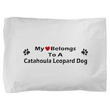 Cute Catahoula leopard dog Pillow Sham