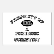 Property of a Forensic Scientist Postcards (Packag