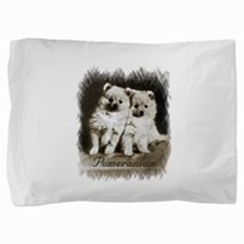 pomm pups old paper card size2.png Pillow Sham