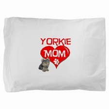 yorkie mom.png Pillow Sham