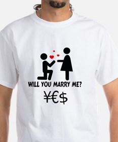 Cute Will you marry me Shirt