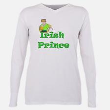 irish prince 4 black.png Plus Size Long Sleeve Tee