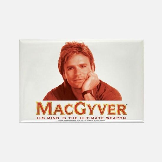 MacGyver: Reddish Rectangle Magnet